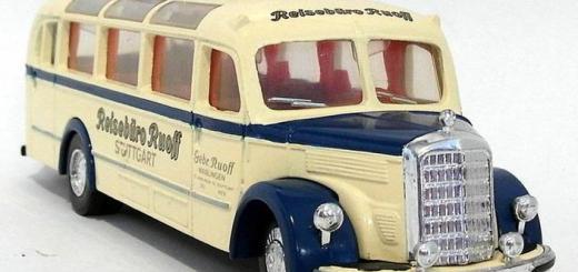 Matchbox Dinky : DY-10 : 1950 Mercedes Benz Omnibus Type D-3500