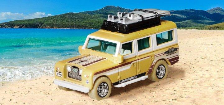 Mattel Creations Land Rover