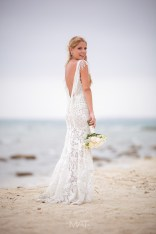 Beach wedding in Cartagena Baru Punta iguana