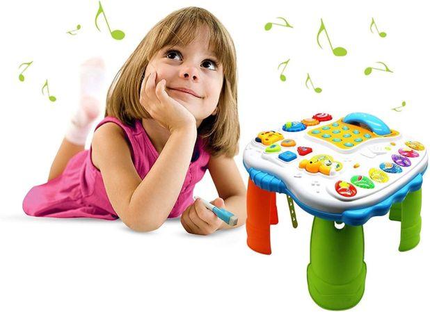 الطاولة التعليمية الشاملة للأطفال