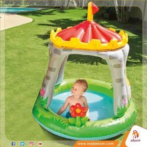 بركة سباحة على شكل برج للأطفال
