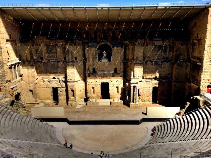 Orangen amfiteatteri.