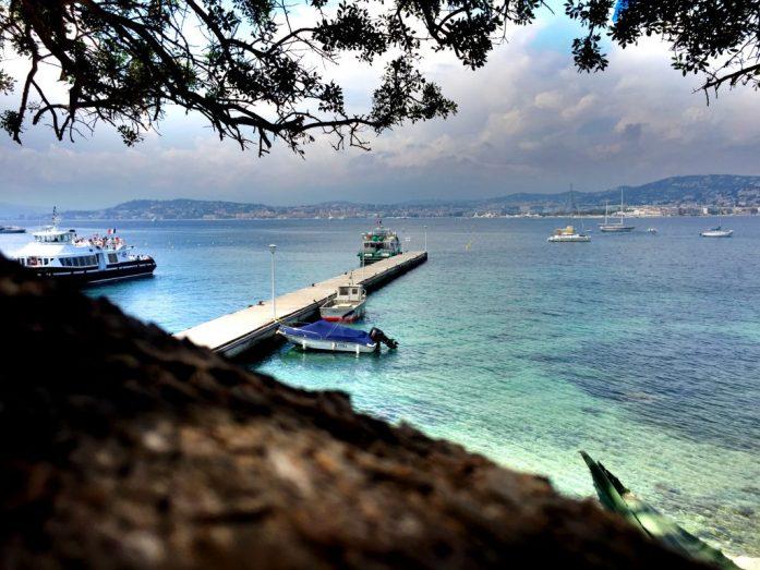 Kurkistus Cannesiin ja Rivieralle Ste. Margueriten saarelta.