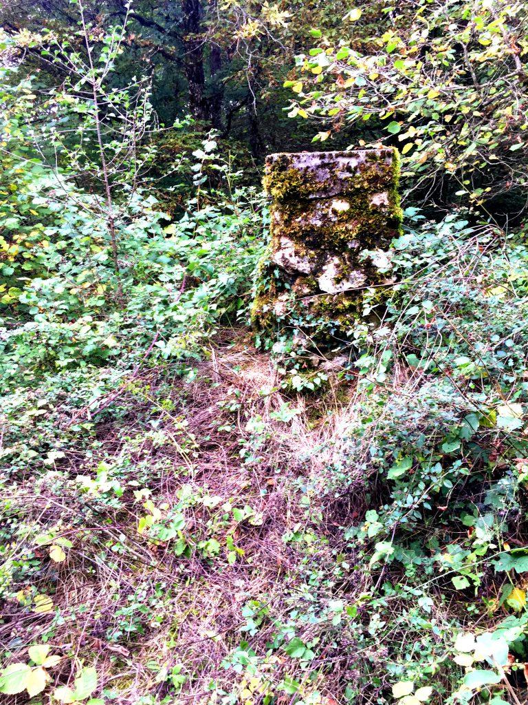 Roomalaisen leirin vartiotorni.