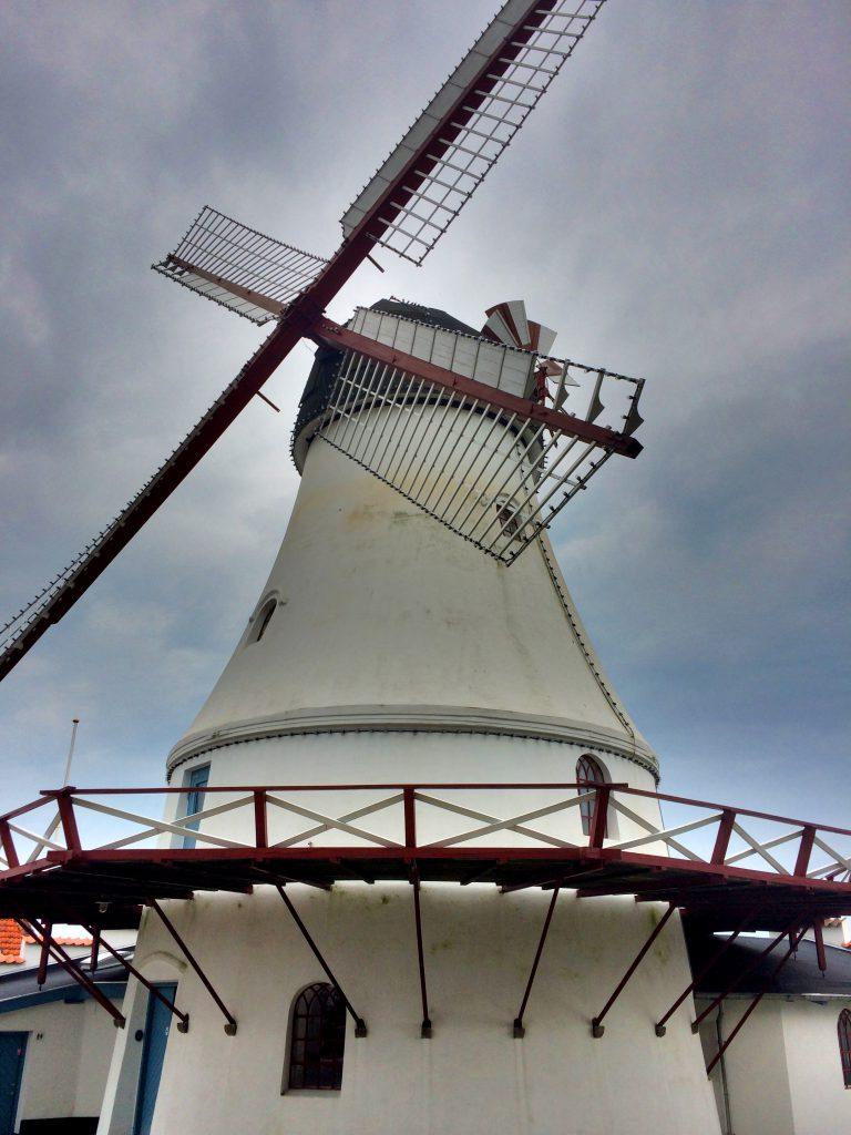 Vejlen historialinen tuulimylly oli nopeasti tsekattu.