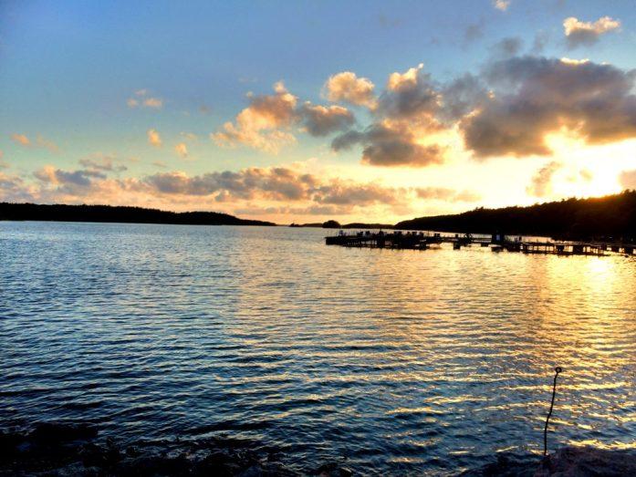 Kalastusreissulla Turun saaristossa.