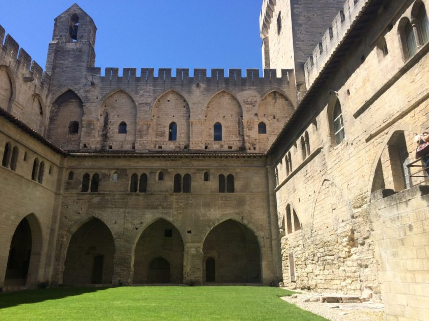 Paavien palatsi, Avignon.