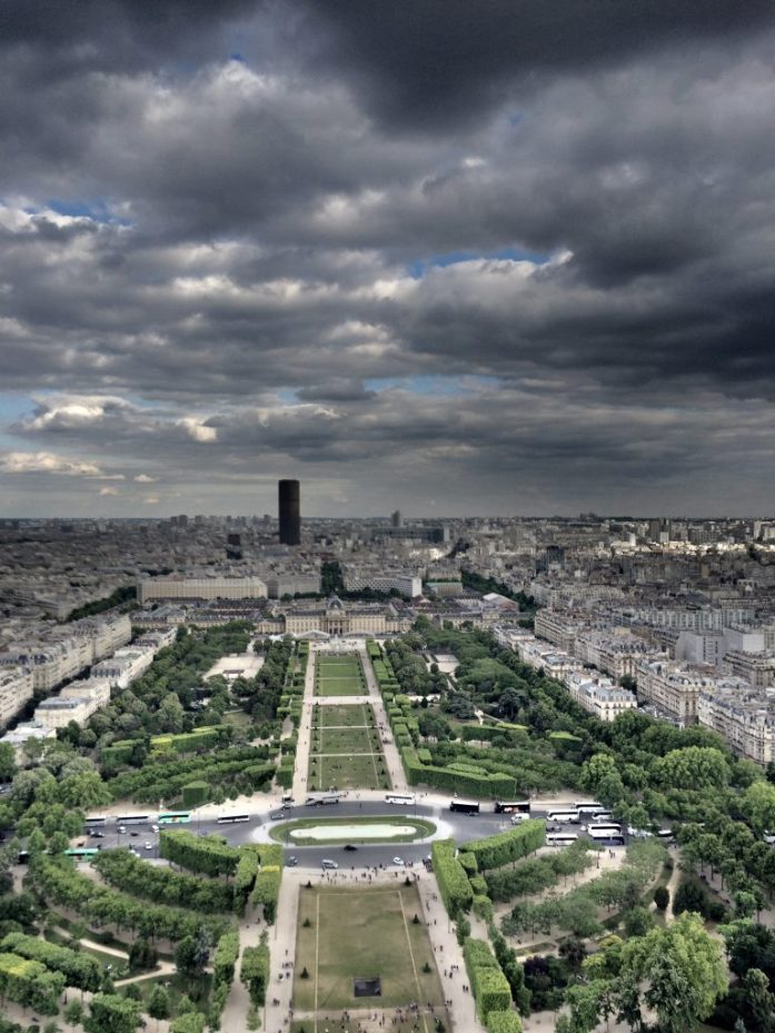 Pariisi - Ranskan napa.