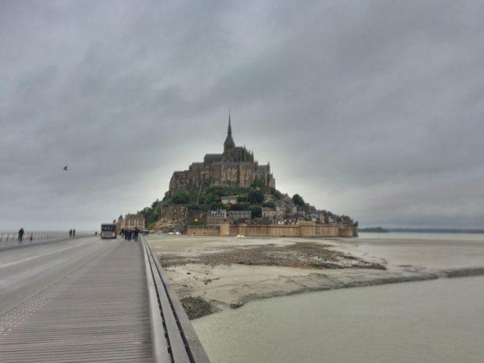 Mont Saint-Michelin luostarisaari.