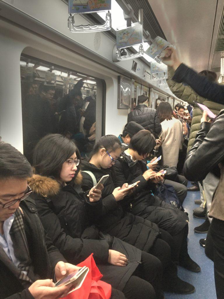 Kiinalaista sosiaalisuutta parhaimmillaan.