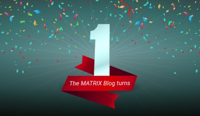 the MATRIX Blog turns one