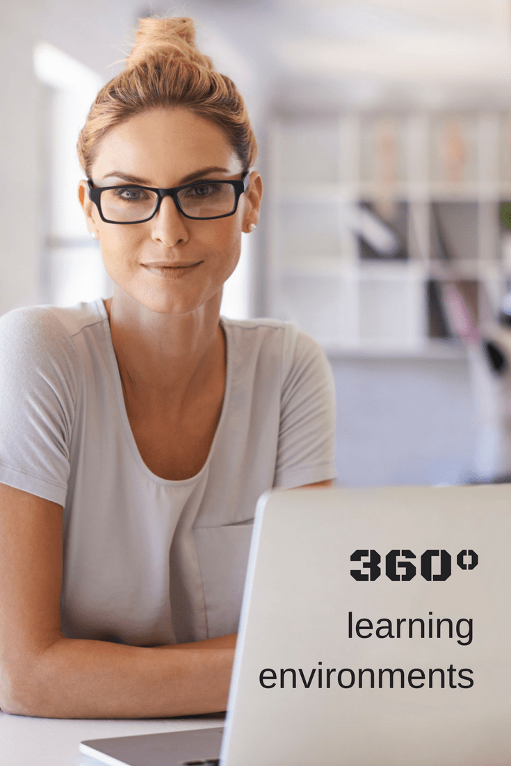 Immersive training with 360° learning environments