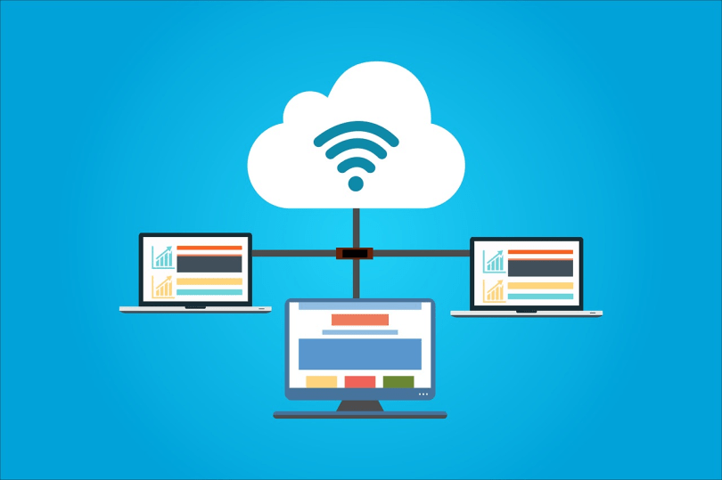 Use a cloud service to share large files