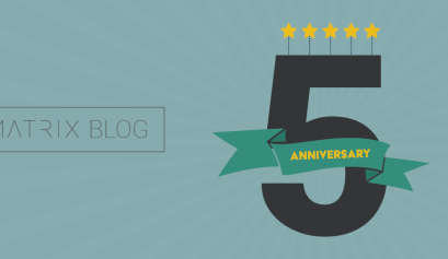 The MATRIX Blog just turned 5!