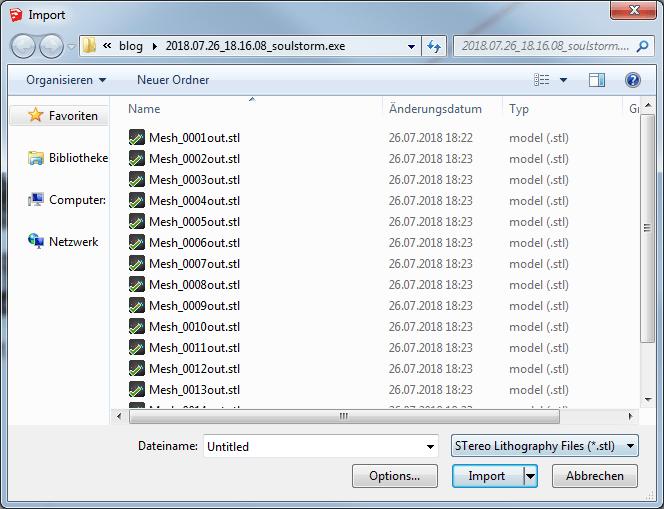 SketchUp Import STL