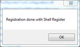 STL Thumbnails Registrierung erfolgreich via Shell
