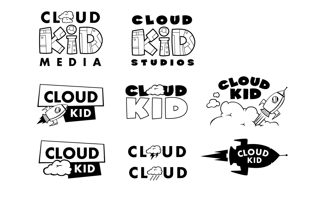 mattmoore.blog() » Blog Archive » Cloud Kid Logo Development