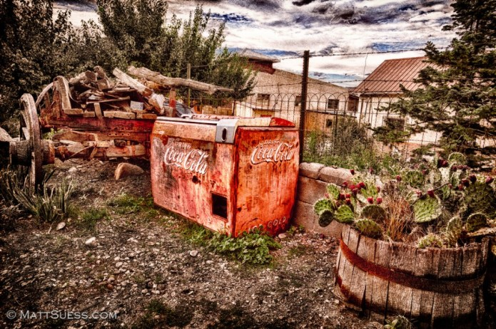 """""""Vintage Coca Cola"""" - New Mexico. Click on photo to view it larger and to purchase prints."""