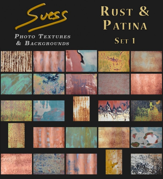 Rust & Patina Set 1