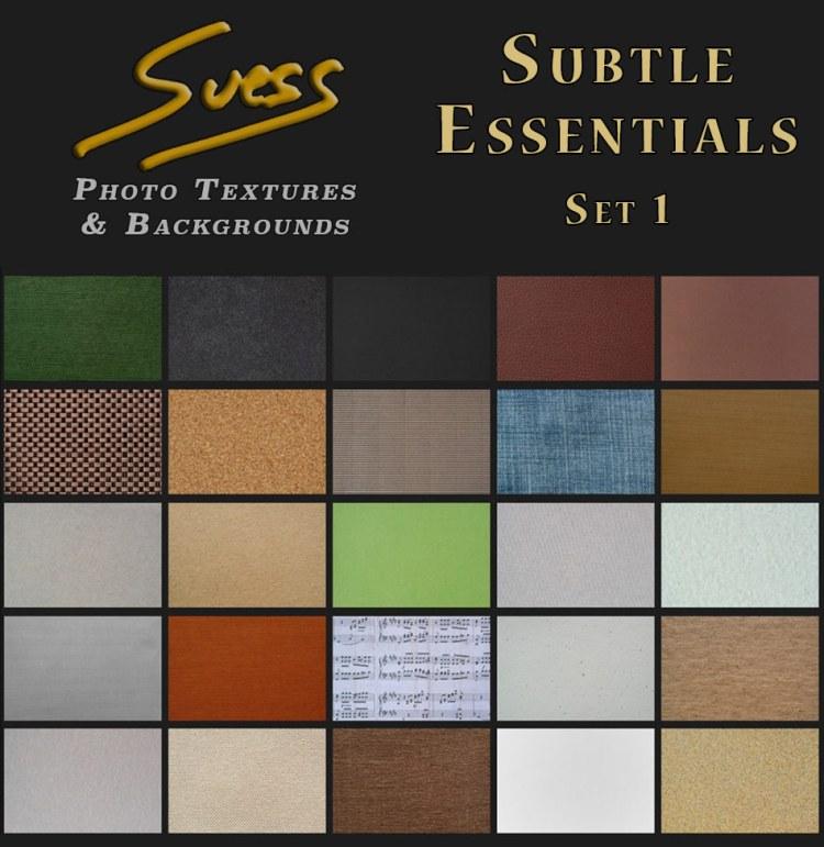 Subtle Essentials Set 1