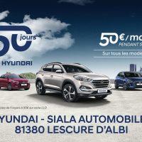 Hyundai Albi - Profitez des 50 jours Hyundai!