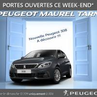 Portes ouvertes Peugeot Maurel Tarn : nouvelle 308