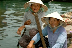 Hoi An is an old trading port and life there still revolves around the water.