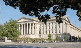 The U.S. Treasury in Washington, D.C. (Source: Treasury.gov)