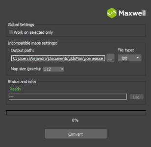 Maxwell | 3ds Max Update Available with a Scene Converter
