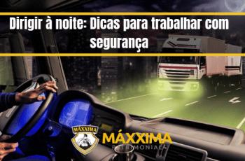 Dirigir à noite: Dicas para trabalhar com segurança