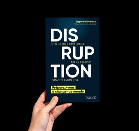 Livre Disruption Stéphane Mallard