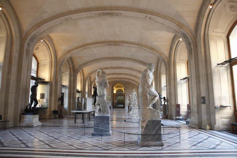 Visite guidée Galerie Michel-Ange Louvre
