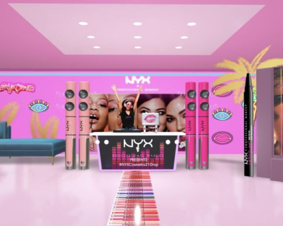 NYX cosmetics Snapchat virtual shopping