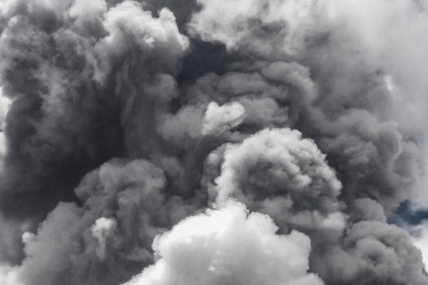 Nuage de fumée