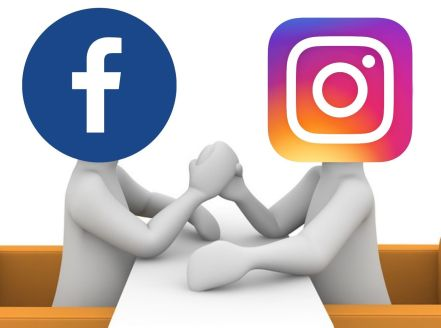 Facebook VS Instagram bras de fer