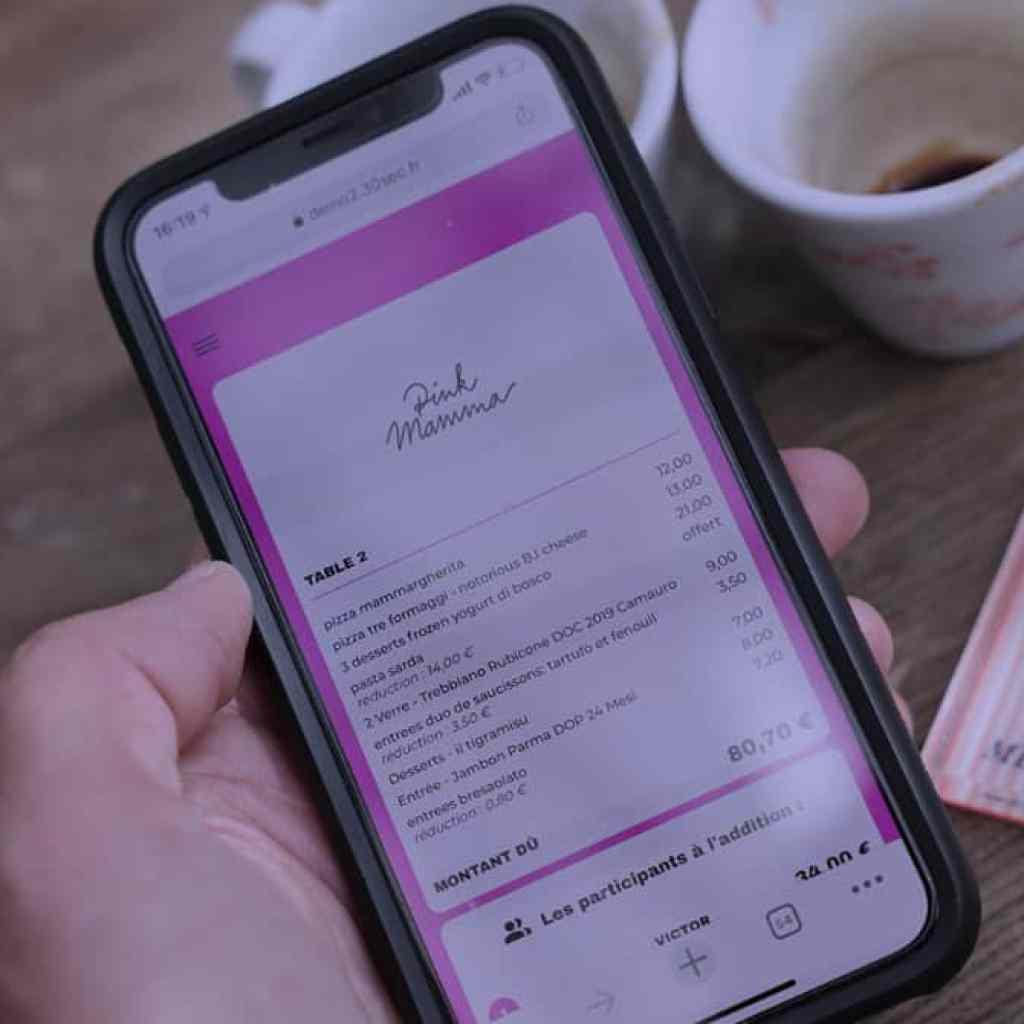 nouvelle plateforme de paiement via un QR code