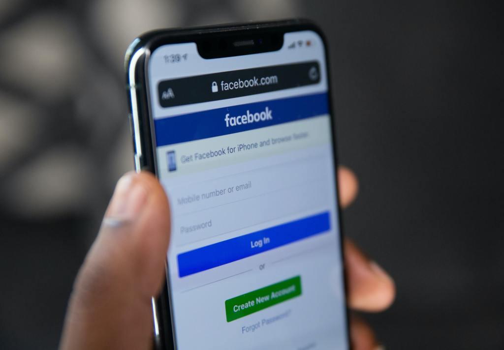 Application Facebook, utilisée pour sa stratégie web