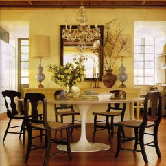 Tulip Table And Chairs Iconic Leather Office Chair To Pair With The Mcgrath Ii Blog