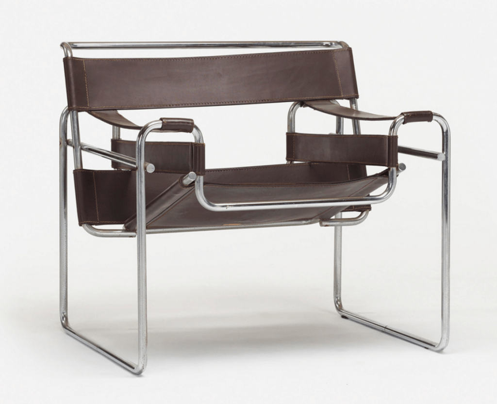 wassily chair brown leather wedding covers stoke on trent find of the week by marcel breuer what is it worth