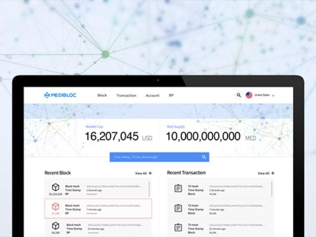 MediBloc Explorer 공개