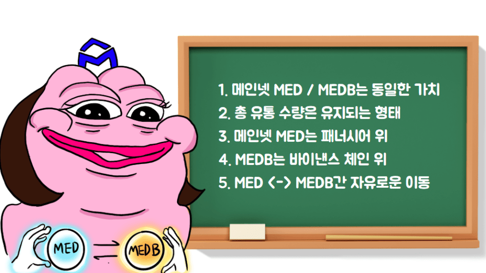 메인넷, MEDB, MED, 바이낸스 체인, 바이낸스, 패너시어