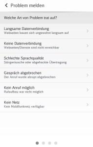 Störungsmeldung im DB-Netzradar