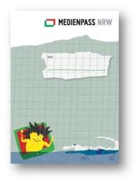 Medienpass für die Grundschule (Medienpassdesign © Fritjof Wild, serviervorschlag.de)
