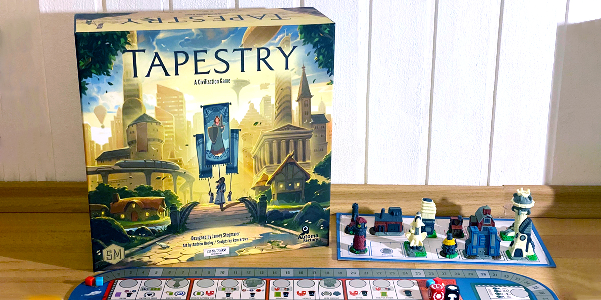 Tapestry: A 'civilization' euro game [Review]