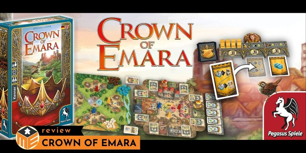 Crown of Emara: Win and rule the tiny Kingdom Emara [Review]