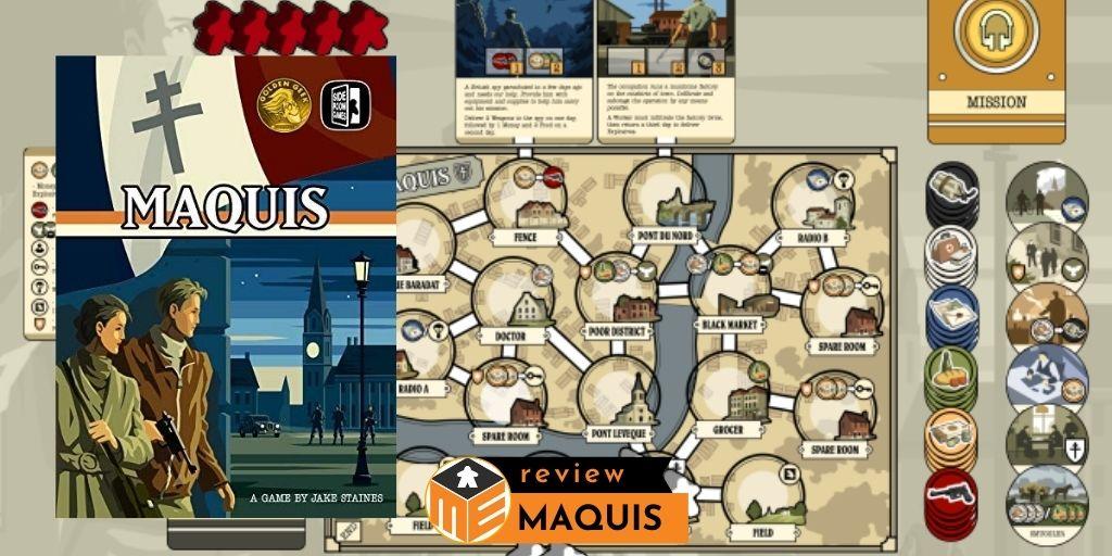 Maquis: La petite guerre in a nutshell [Review]