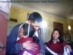 Abschied aus Nepal