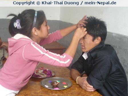Tihar in Nepal – Tag 5: Bhai Tika