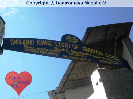 Neue Hilfsprojekte für die Snowland Ranag School in Kathmandu