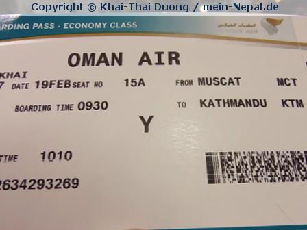 Flüge gebucht: Nepal Teil 4!! :)